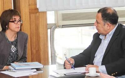 Alcalde de Graneros se reune con intendenta(s) para exponer futuros proyectos en la comuna