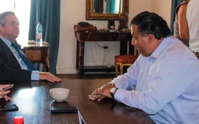 Alcalde de San Fernando se reune con rector de la futura universidad regional