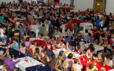 Clubes de adultos mayores de San Fernando conmemoran dia internacional de la mujer