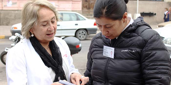 Hospital San Fernando realiza difusion de traslado del nuevo Hospital Regional
