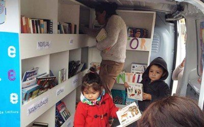 Inauguran Bibliomovil para Palmilla
