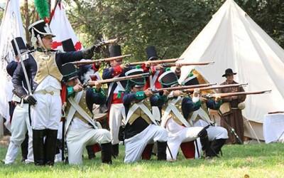 Mostazalinos disfrutan recreación de historica batalla de la independencia
