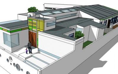 Nuevo proyecto de jardin infantil para poblacion Manuel Ford