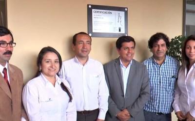 Senda Santa Cruz certifica empresa por trabajo preventivo y de rehabilitacion