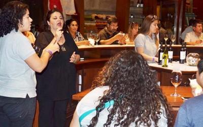 Subsecretaria de Turismo participa en tour enologico inclusivo en la Sexta Region