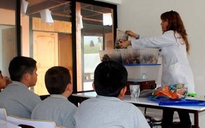 Alumnos de la escuela San Joaquín de los Mayos conmemoran día mundial de la tierra