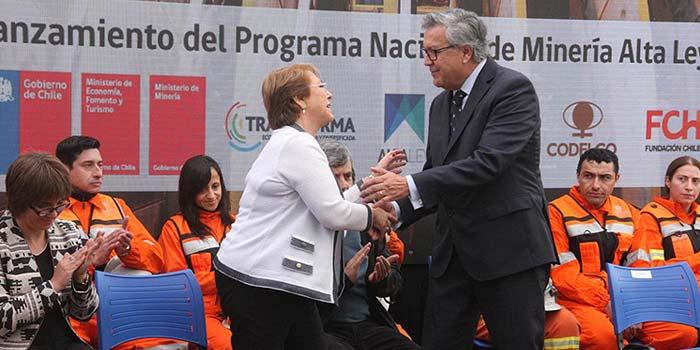 En Rancagua se realiza el lanzamiento del Programa Nacional de Mineria Alta Ley