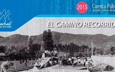 Municipio de Machalí entrega cuenta pública 2015