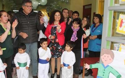 Nuevo jardín infantil y sala cuna aumenta la cobertura en sector poniente de Rancagua