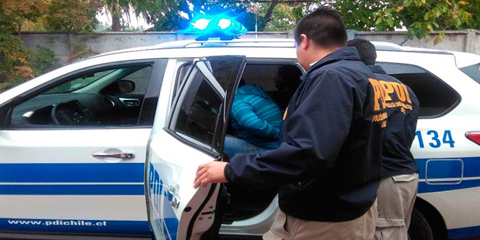 PDI Detenido sujeto que abusaba de menor de 11 años