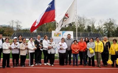 Primeras olimpiadas del adulto mayor se desarrollan en San Fernando