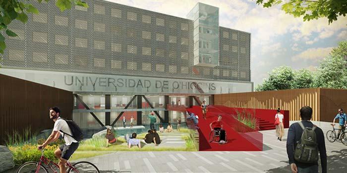 Rector presenta proyecto del futuro campus de la universidad regional