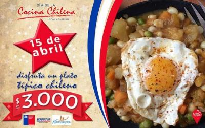 Sernatur En OHiggins celebraran dia nacional de la cocina chilena