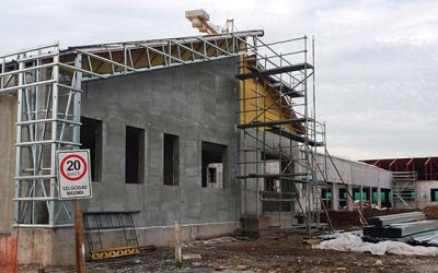 Cerca de un 26 por ciento de avance de construcción lleva el Hospital de Chimbarongo