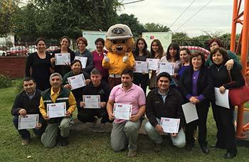 Conaf capacita a profesores en educación ambiental e incendios forestales