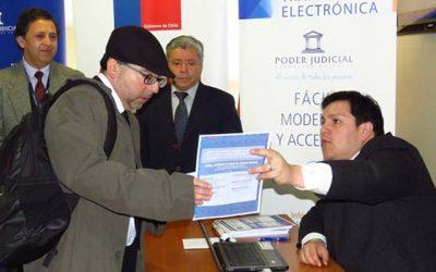 Corte de Apelaciones de Rancagua inicia itinerancia regional de módulo del Registro Civil para entrega de clave única