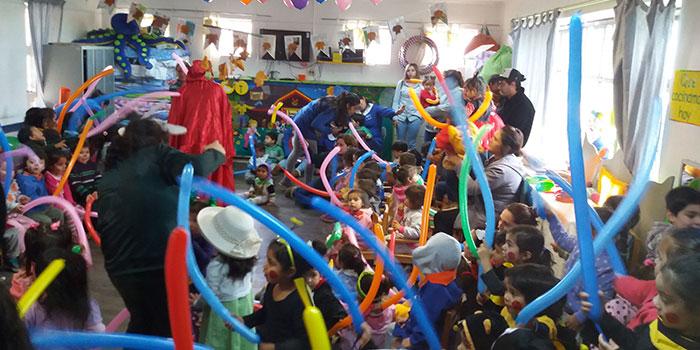 Jardines infantiles de la Junji O'Higgins celebra 46 años