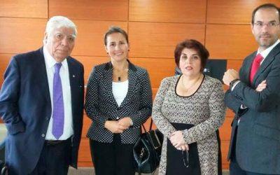 Poder Judicial Fiscal Judicial de la Corte Suprema finaliza recorrido por tribunales de la Región