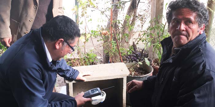 Emprendedor de OHiggins crea medidor inteligente de agua potable