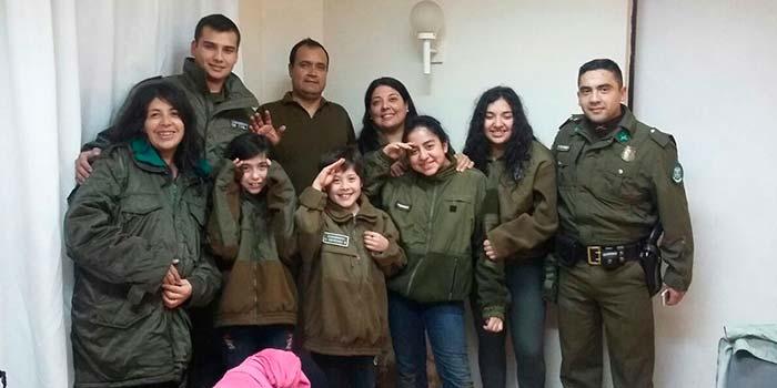 Carabineros rescata a 7 personas en Pichilemu