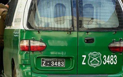 carabineros furgon policial