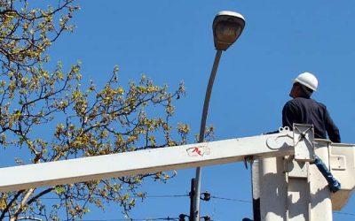 CGE alumbrado poste corte luz