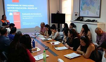 Colegios de la Sexta Región se preparan para simulacro