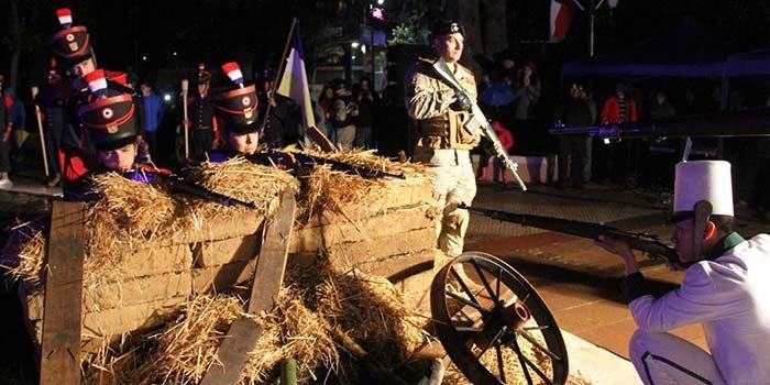 Estandartes perdidos en la Batalla de Rancagua serán restituidos a la ciudad heroica