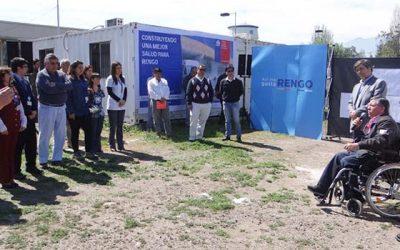 Inversiones en salud comienzan a tomar forma en Rengo