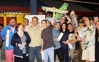 Proyecto de Cancha de Skate en población Santa Elena