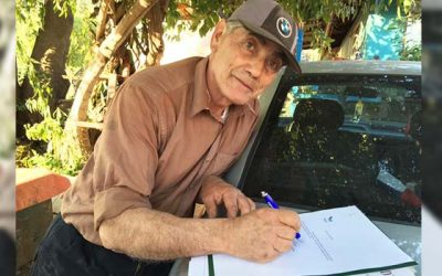 Vecinos de Coya reciben sus escrituras de propiedades