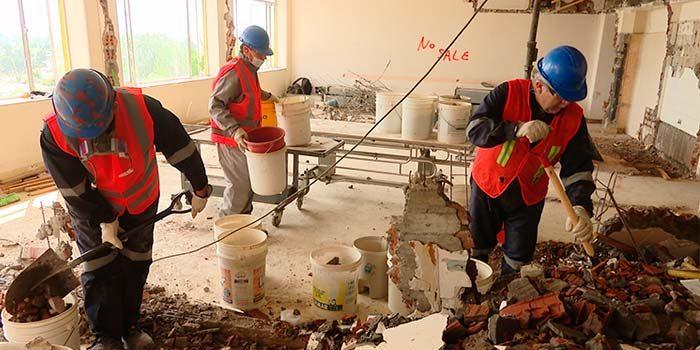 Avanzan obras para habilitar edificio del Campus Rancagua de la Universidad de OHiggins
