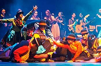 Ballet folclórico municipal de Rancagua estrena Norte Carnaval