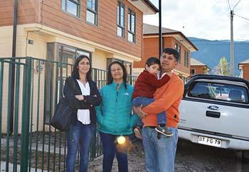 Cada vez más familias habitan las 4 mil viviendas de proyectos de integración social en la Región