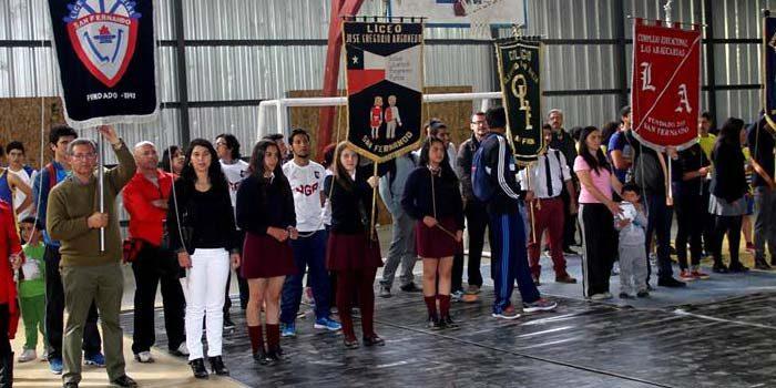 Comienza 2do Campeonato de las instituciones de la educación Julio Duarte Gómez