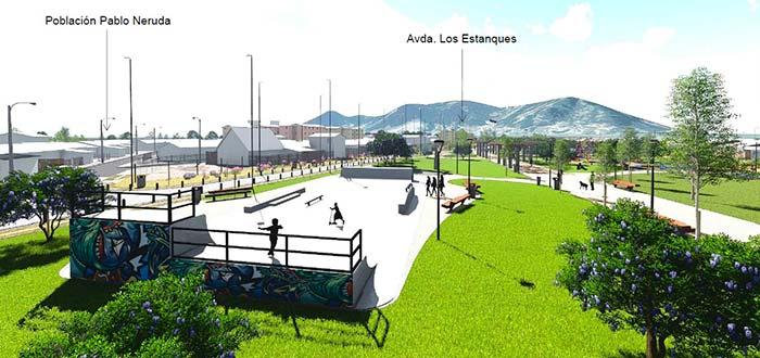 Core aporta recursos para construcción del parque La Paz y mejoramiento del parque Rapel