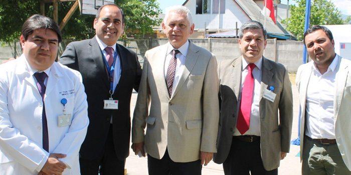 Director de Salud de Rengo participa en celebración de día del hospital