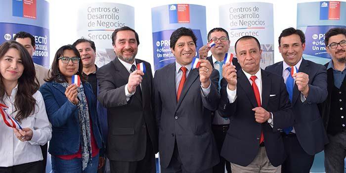 En Rancagua se inaugura segundo Centro de Desarrollo de Negocios
