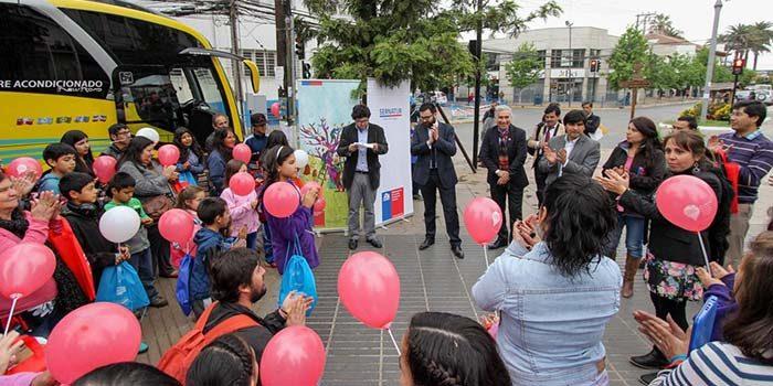 En Rengo se realiza el lanzamiento regional del programa Turismo Familiar