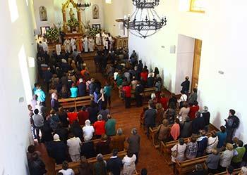 Entregan histórica Iglesia de La Merced a la comunidad