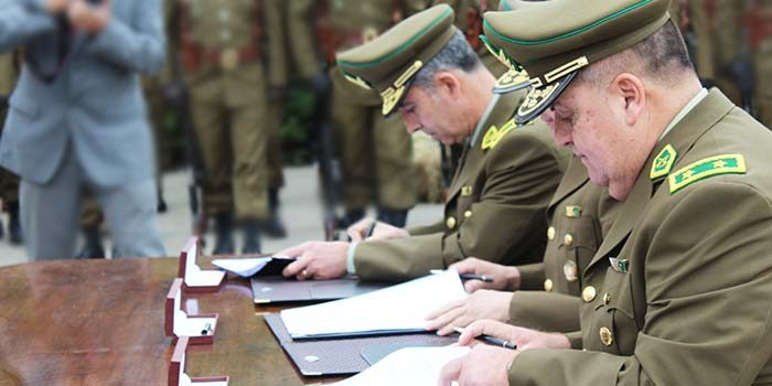 General José Rivera asume como nuevo jefe de la Sexta Zona de Carabineros