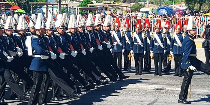 Gran desfile cívico militar en conmemoración de los 202 años de la Batalla de Rancagua