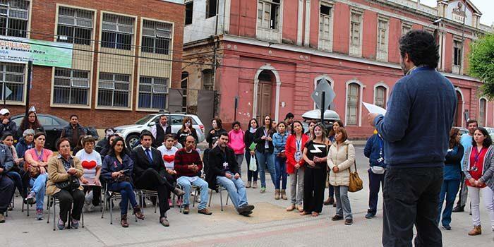 Hospital de San Fernando conmemora el día de la salud mental