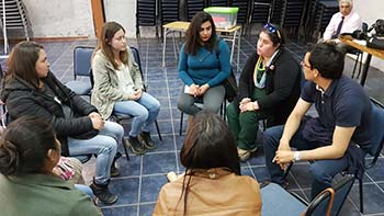 Jardines de la Junji participan en talleres de salud bucal