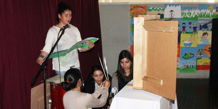 Niños de jardines Junji de San Fernando potencian lenguaje y comprensión lectora