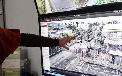 Nuevas cámaras de vigilancia HD para terminal de buses y mercado de Rengo