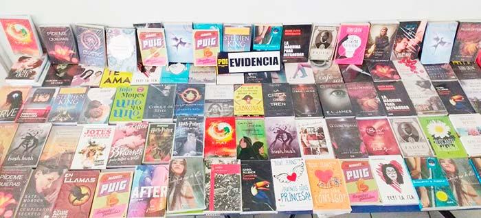 PDI incauta más de 100 libros falsificados