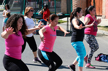 Rancagüinos  disfrutan los fines de semana gracias al programa Calles abiertas
