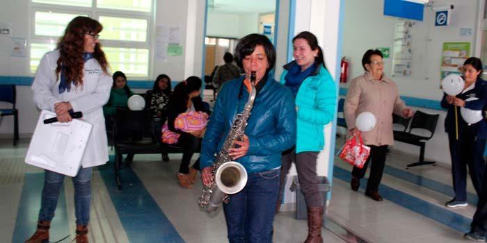 Salud Machalí conmemora mes de la salud mental con musicoterapia