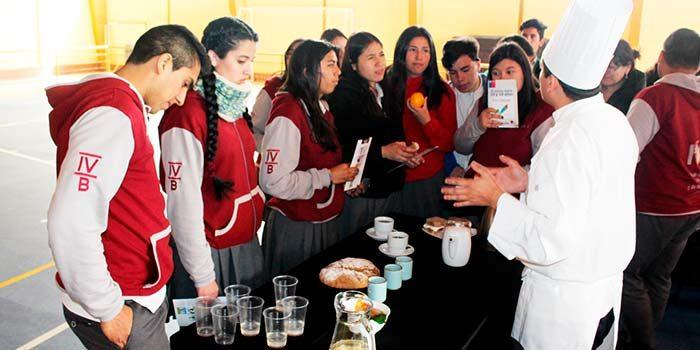 Salud Machalí e Inacap realizan primera versión de la Ruta saludable para alumnos de enseñanza media